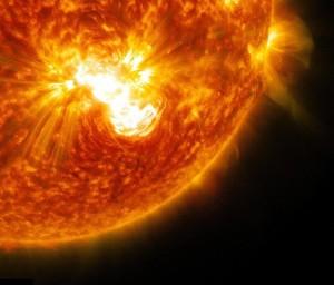 2013_Space_Com_Solar_Flare
