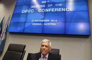 OPEC Secretary-General al-Badri waits for the start of a meeting of OPEC oil ministers at OPEC's headquarters in Vienna