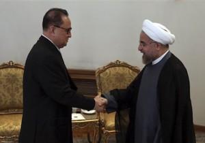 Hassan Rouhani, Ri Su Yong